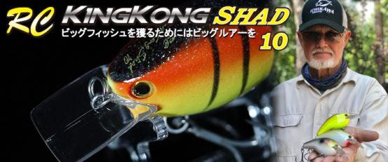 【イチカワ】RCキングコングシャッドの特徴&カラーを紹介!!