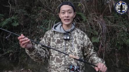 横田啓輔プロが真冬の野池をカーヴァーなどで攻略!!