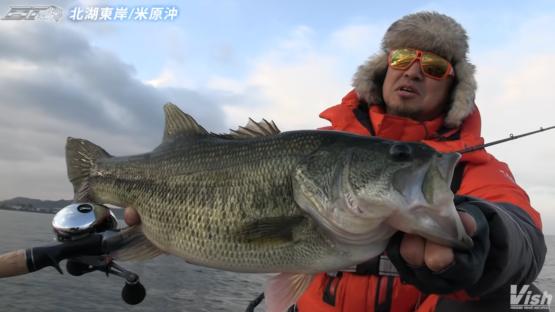 奥田学プロが真冬の琵琶湖北湖を攻略!!
